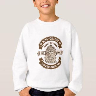 Les houblon pour taille sweatshirt