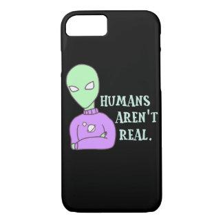 Les humains ne sont pas vrais coque iPhone 7