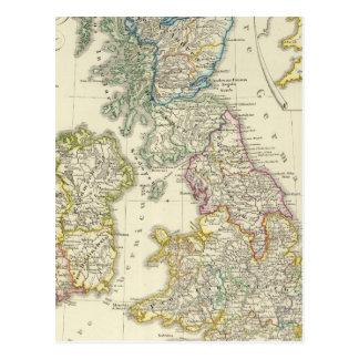 Les îles britanniques après leur église cartes postales