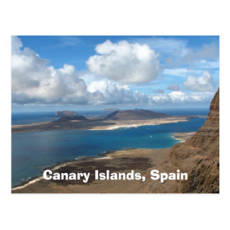Les Îles Canaries, Espagne Carte Postale
