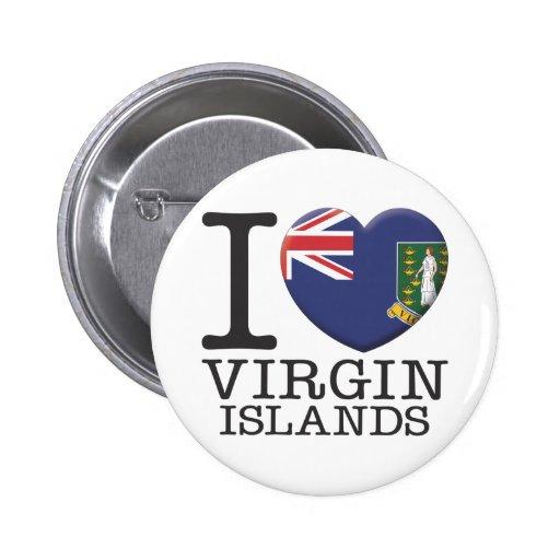 Les Îles Vierges Badges