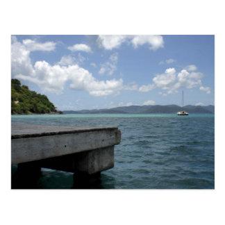Les Îles Vierges britanniques Carte Postale