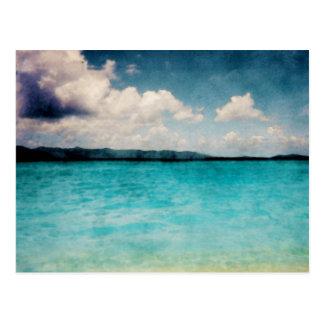 Les Îles Vierges britanniques des Caraïbes Carte Postale