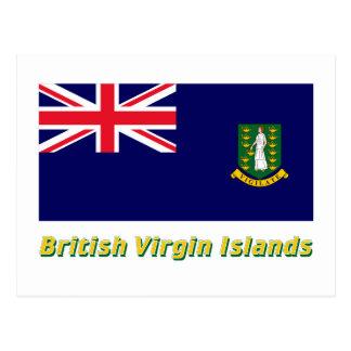 Les Îles Vierges britanniques diminuent avec le Carte Postale