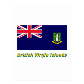 Les Îles Vierges britanniques diminuent avec le Cartes Postales