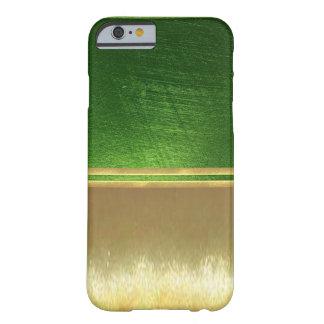 Les illusions d'or refroidissent la caisse de coque barely there iPhone 6