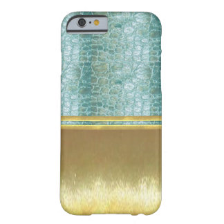 Les illusions d'or refroidissent la caisse de coque iPhone 6 barely there