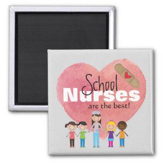 Les infirmières d'école sont le meilleur ! aimant
