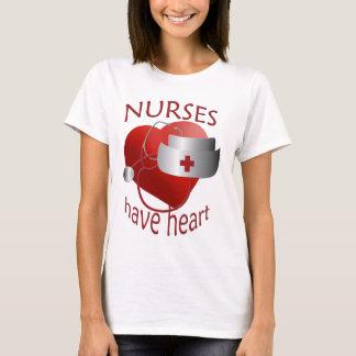 Les infirmières ont le T-shirt d'infirmière de
