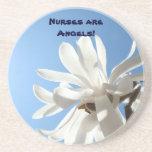 Les infirmières sont des anges ! caboteurs de grès dessous de verre