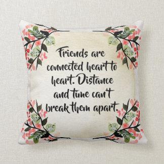 Les inspirations de Becca - coussin d'amis