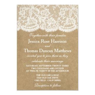 Les invitations de collection de mariage de Papier