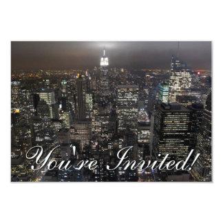 Les invitations de New York ont personnalisé New
