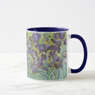 Les iris par Vincent van Gogh, cru fleurit l'art Mugs