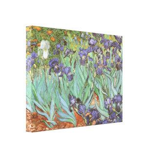 Les iris par Vincent van Gogh, cru fleurit l'art Toiles