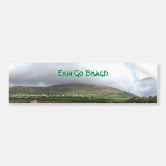 Les Irlandais Erin vont adhésif pour pare-chocs de Autocollant Pour Voiture