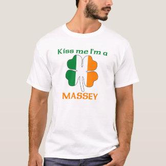 Les Irlandais personnalisés m'embrassent que je T-shirt