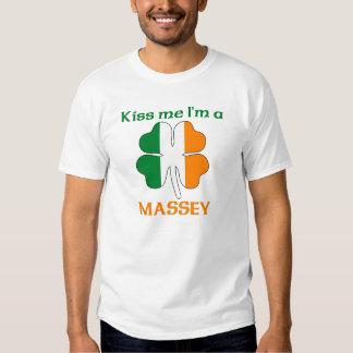 Les Irlandais personnalisés m'embrassent que je T-shirts