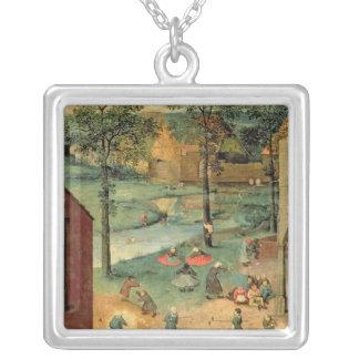 Les jeux des enfants, 1560 pendentif carré