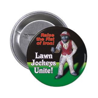 Les jockeys de pelouse unissent ! badge