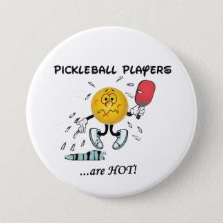 Les joueurs de Pickleball sont chauds Pin's