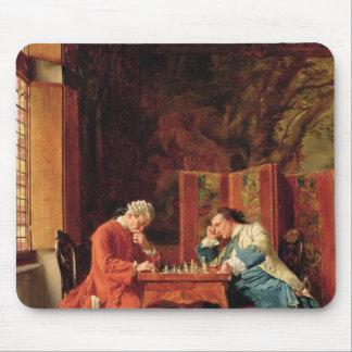 Les joueurs d'échecs, 1856 tapis de souris