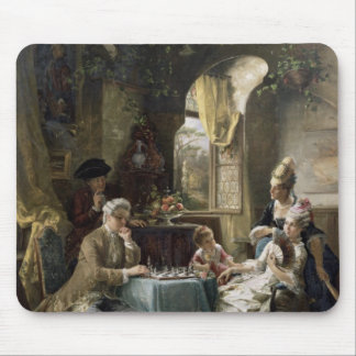 Les joueurs d'échecs, 1887 2 tapis de souris