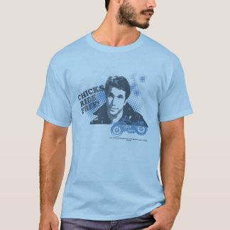 """Les jours heureux """"poussins montent librement"""" t-shirt"""