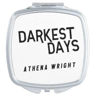Les jours les plus foncés par le miroir compact