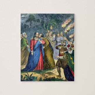 Les judas trahissent son maître, d'une bible impri puzzle