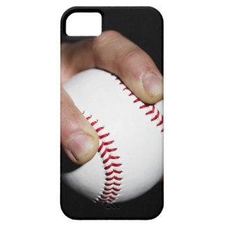Les lanceur remettent saisir un base-ball coque iPhone 5 Case-Mate