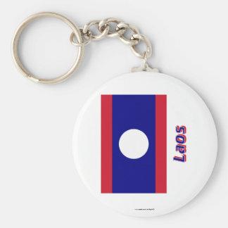 Les Laotiens diminuent avec le nom Porte-clef