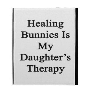 Les lapins curatifs est la thérapie de ma fille coque iPad