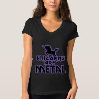 Les licornes sont métal t-shirt