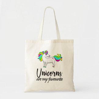Les licornes sont mon favori tote bag
