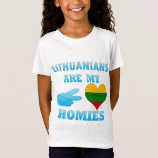 Les Lithuaniens sont mon Homies T-Shirt