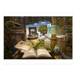 Les livres sont la connaissance ! cartes postales