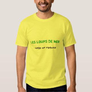 LES LOUPS DE MER, vitesse de la France T-shirts