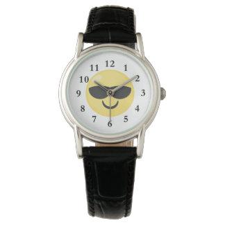 Les lunettes de soleil refroidissent la montre montres cadran