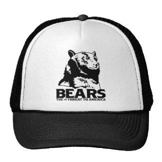 les machines athée de massacre d'ours câlinent le  casquettes de camionneur