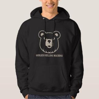 les machines athée de massacre d'ours câlinent le sweat-shirts avec capuche