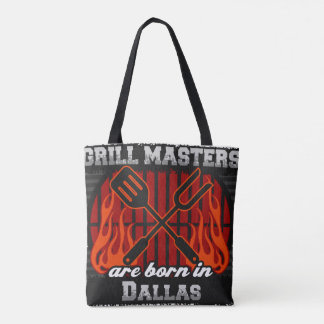 Les maîtres de gril sont nés à Dallas le Texas Sac