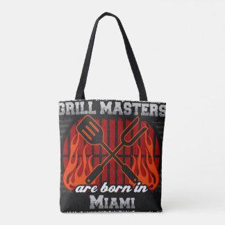 Les maîtres de gril sont nés à Miami la Floride Sac