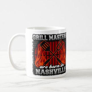 Les maîtres de gril sont nés à Nashville Tennessee Mug