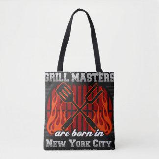 Les maîtres de gril sont nés à New York City Sac