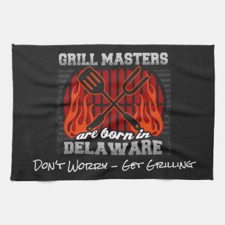 Les maîtres de gril sont nés au Delaware ajoutent Serviette Pour Les Mains