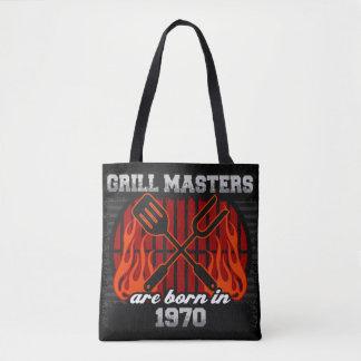 Les maîtres de gril sont nés en l'année 1970 sac