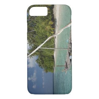 Les Maldives, atoll masculin du nord, île de Kuda Coque iPhone 7