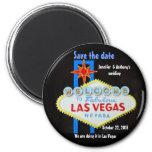 Les mariages de Las Vegas personnalisés font gagne Magnets
