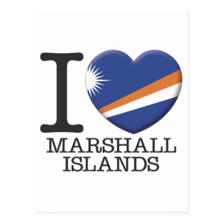Les Marshall Islands Carte Postale
